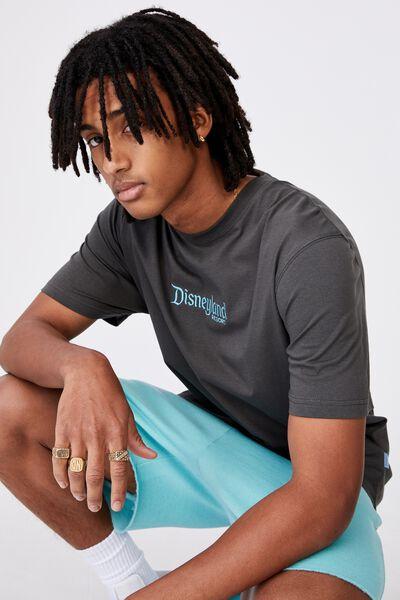 Regular License T Shirt, LCN DIS PIRATE BLACK/DISNEY LOGO