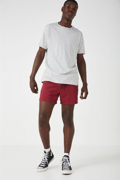 Jose Poolboy Short 2, RED PLUM SETS