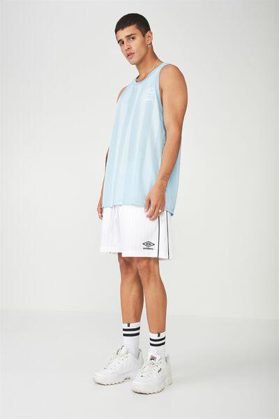 Umbro Lcn Soccer Shorts, WHITE