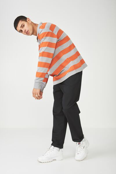 Qtr Zip Funnel Neck Top, MONUMENT/PUFFINS BILL STRIPE