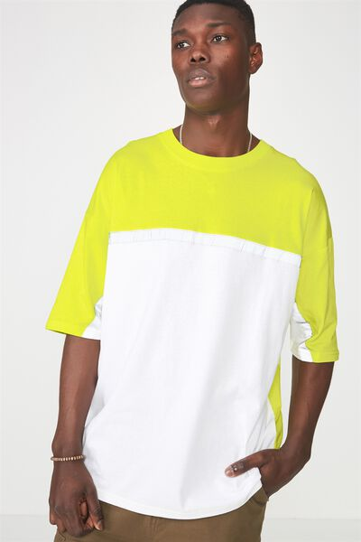 Reflector Block T Shirt, SULPHUR SPRING