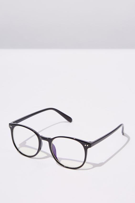 Blue Light Reader Glasses, S.BLK_B-LIGHT