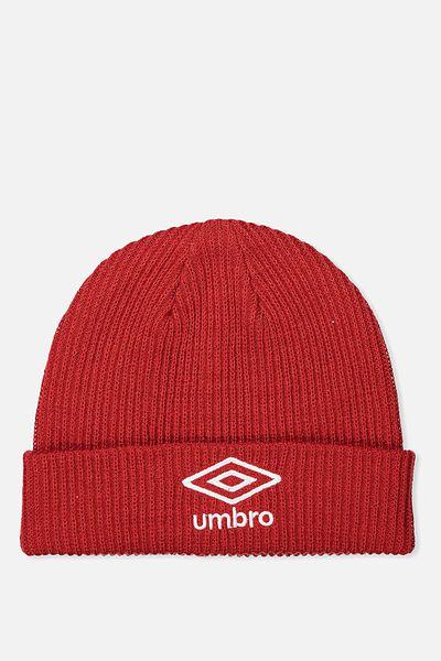 Umbro Beanie, RED