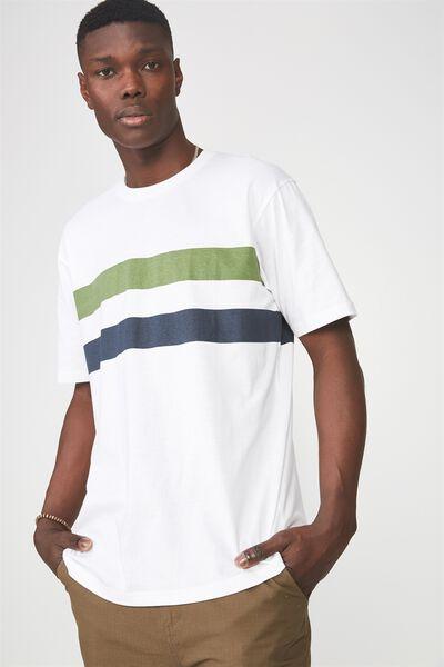 Graphic T Shirt, WHITE/BOSTON STRIPE