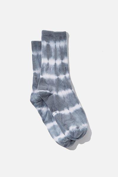 Retro Sport Sock, TRADEWINDS TIE DYE
