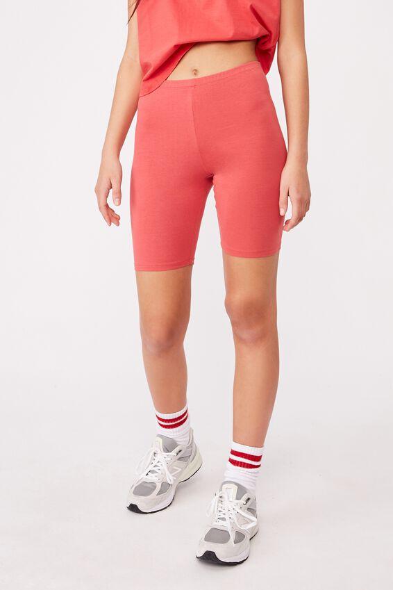 Basic Bike Short, RED APPLE