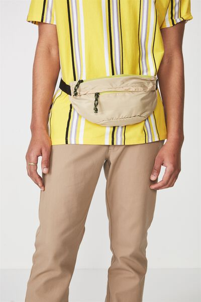 Crossbody Bag, NATURAL/GREEN