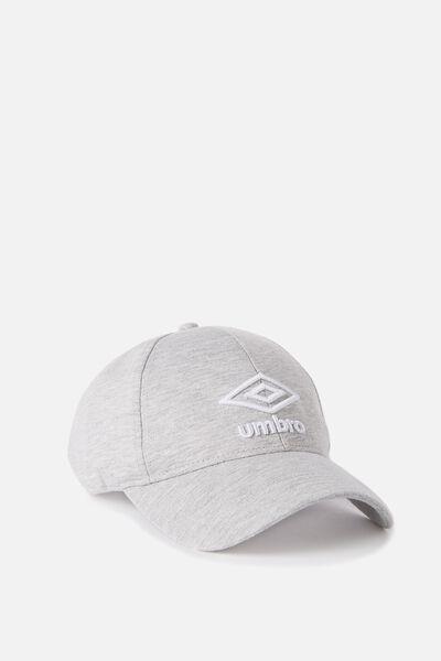 Umbro Cap, 005A-GM_WHITE