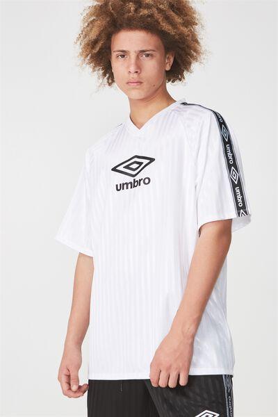Umbro Lcn Soccer Jersey V-Neck, UMBRO WHITE