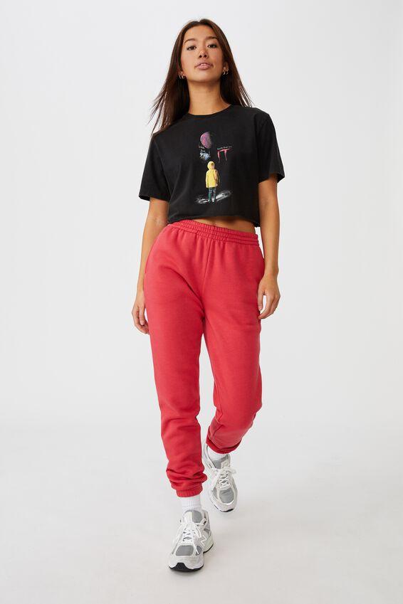 Lcn Raw Edge Graphic T Shirt, LCN WB BLACK/ IT