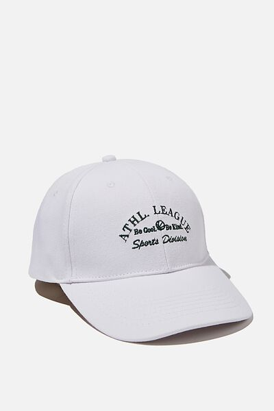 Classic Baseball Cap, WHITE/ATH. LEAGUE
