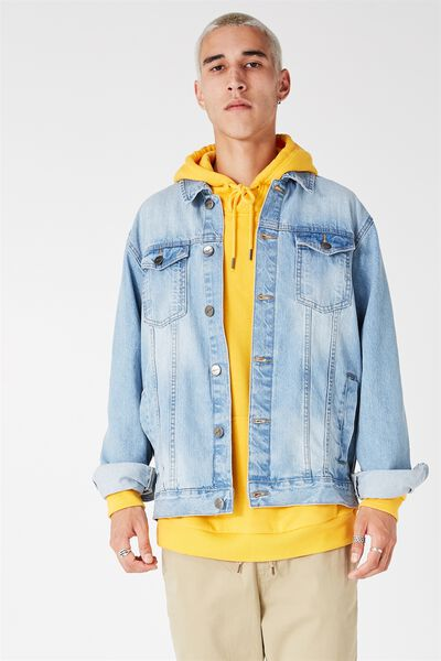 The Og Denim Jacket, WASHED BLUE