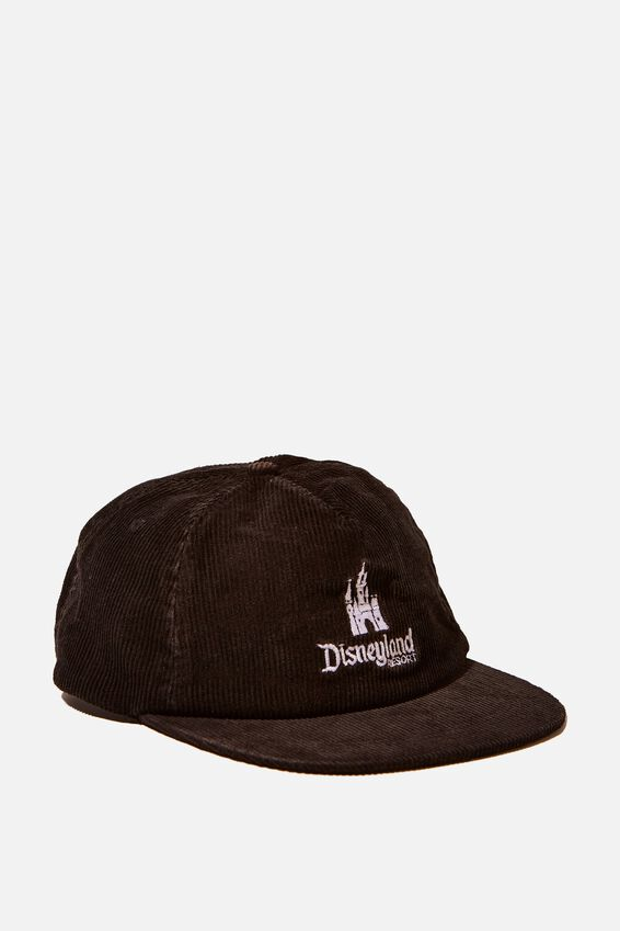 License Cord Service Cap, LCN DIS BLACK/DISNEYLAND CASTLE