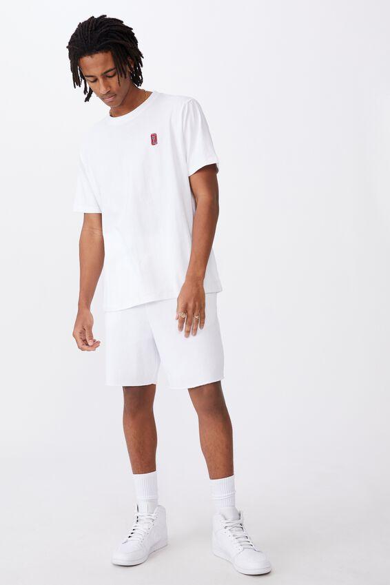 Regular License T Shirt, LCN COK WHITE/COKE CAN