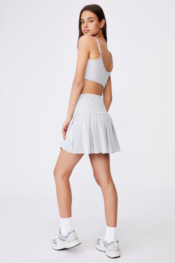 Tennis Skirt, GREY MARLE