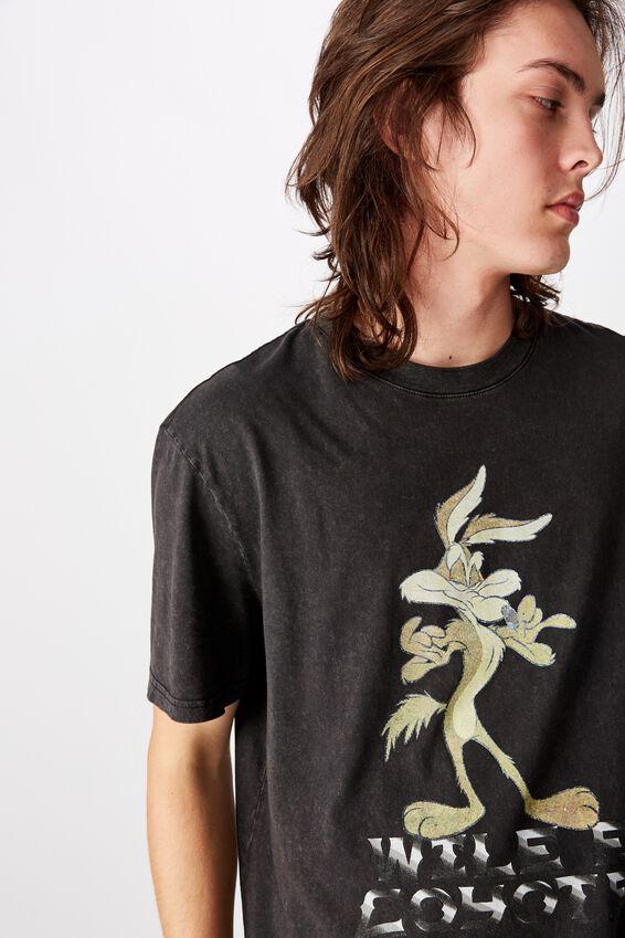 Regular License T Shirt, WHITE COCA COLA