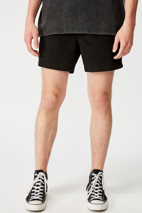 Resort Short, BLACK