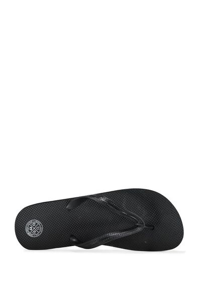 Urban Flip Flop, SOLID BLACK