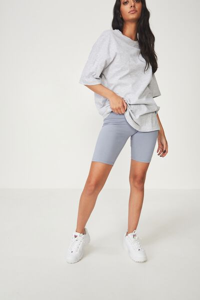 Basic Bike Short, GRAY DAWN