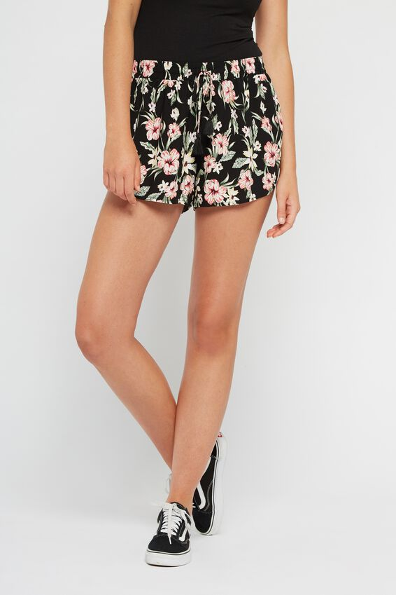 Dreamer Short, ICONIC_TROPICAL_SMALL_BLACK