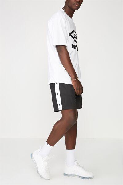 Snap Shorts, BLACK