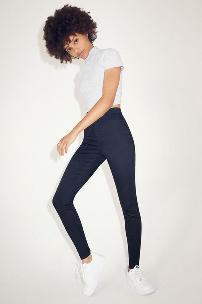 The Jegging, BLACK