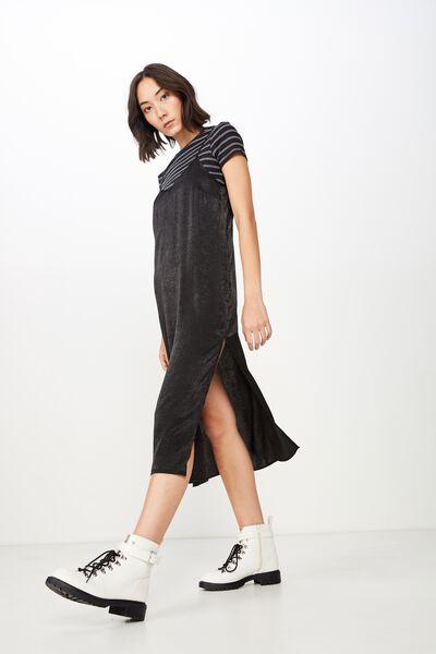 7d1ad4ecd72 Satin Midi Dress