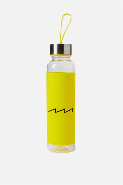 Silicone Drink Bottle, YELLOW