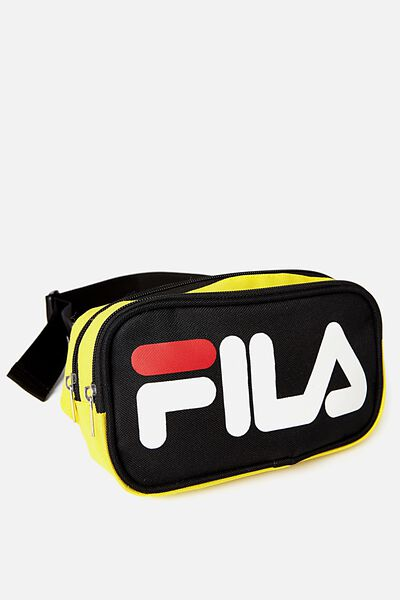 Fila Lcn Bum Bag, BLACK_YELL