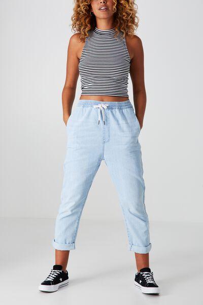The Low Slung Jean, BYRON BLUE