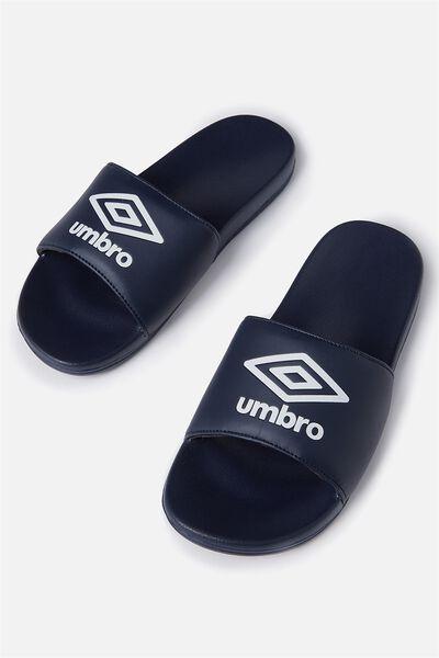 Umbro_Logo Slide, NAVY