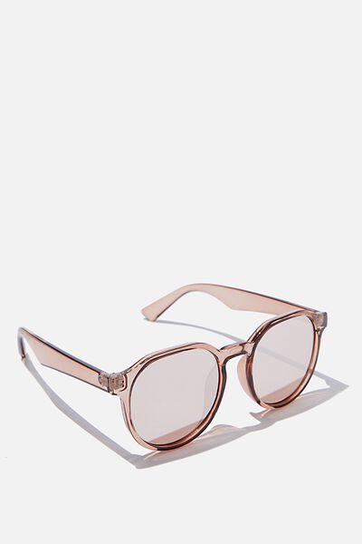 Millenium Preppy Sunglasses, MISTY ROSE
