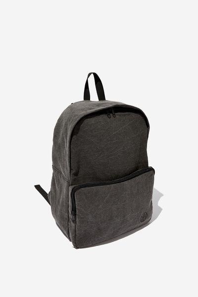 Washed Backpack, WASHED BLACK