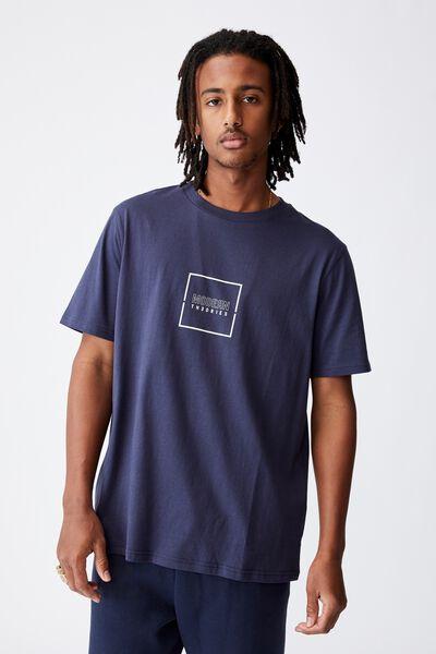 Regular Graphic T Shirt, INDIGO/MODERN THEORIES