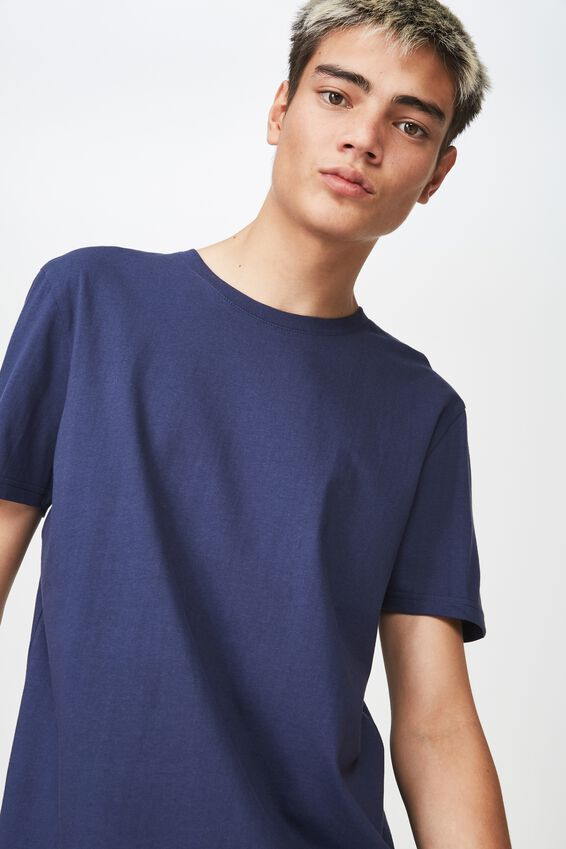 Slim T Shirt, WASHED NAVY