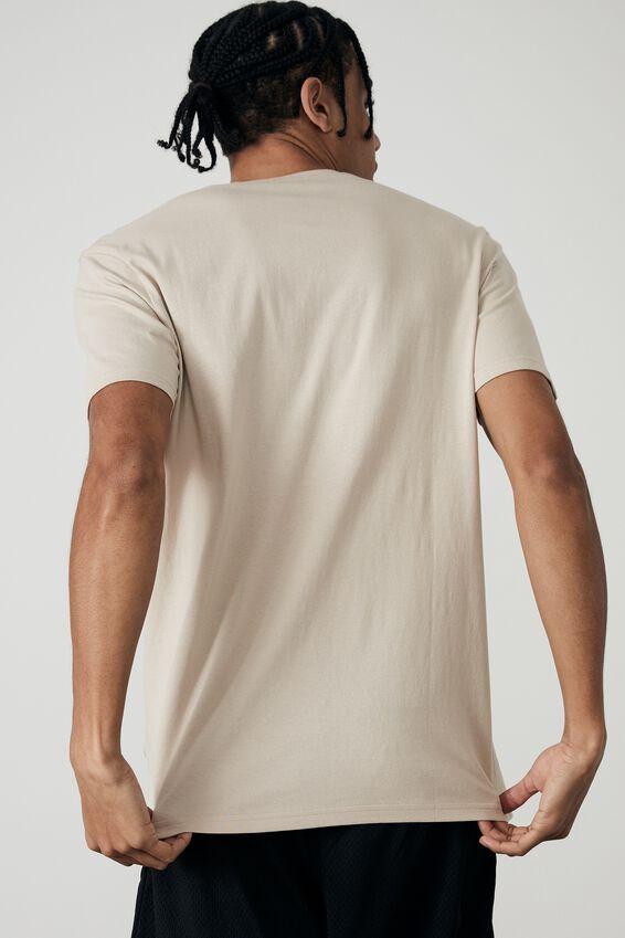 Slim T Shirt, BEIGE