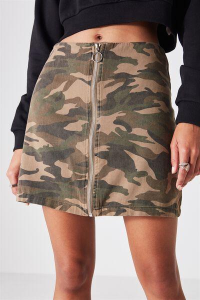 Camo Skirt, CAMO