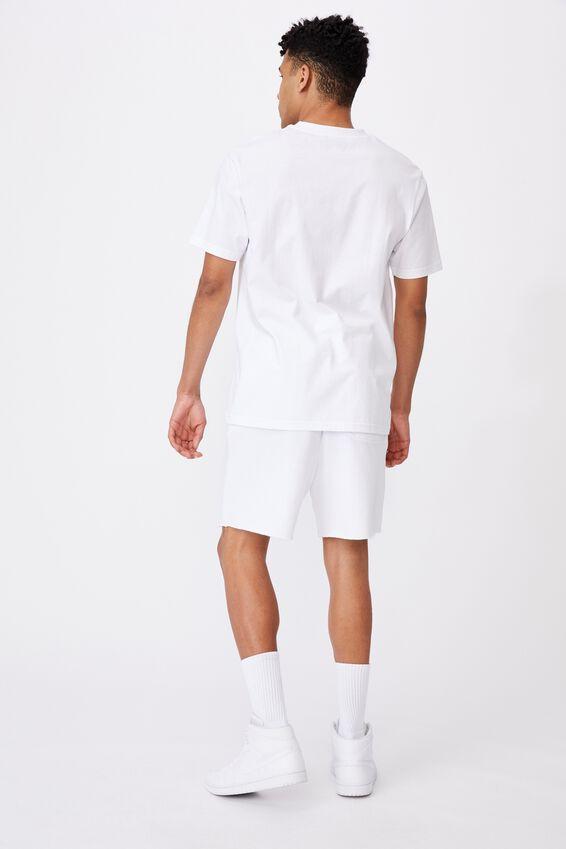 Fila Lcn Classic T Shirt, WHITE/ICON