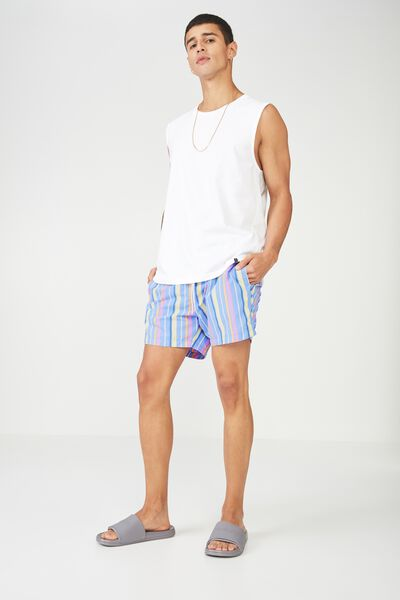 Swim Short, PANAMA STRIPE