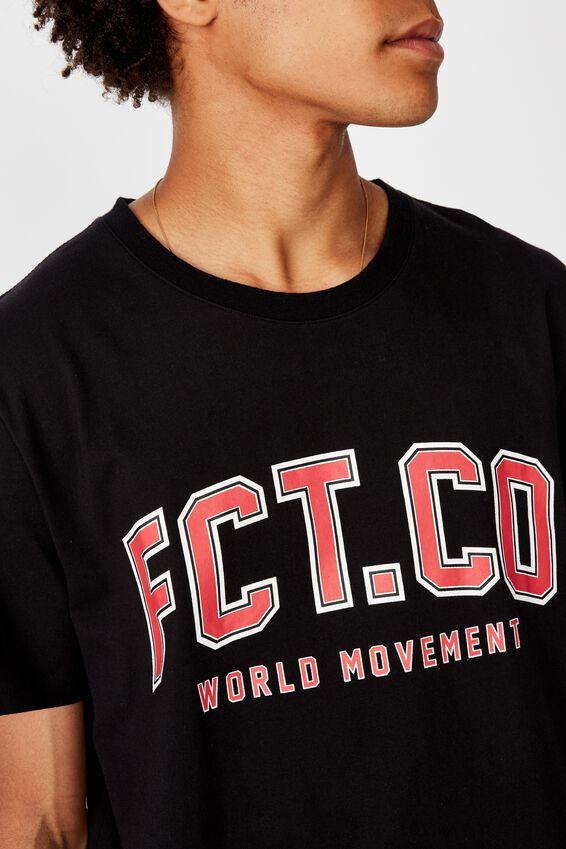 Slim Fct Graphic T Shirt, BLACK/FCT VARSITY