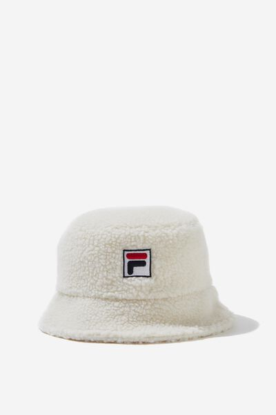 Fila Lcn Teddy Bucket Hat, CREAM