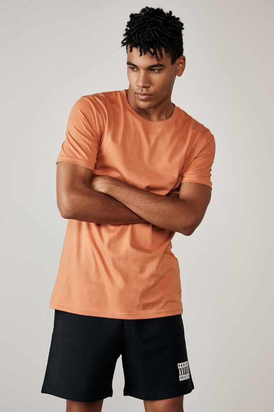Slim T Shirt, FADED ORANGE