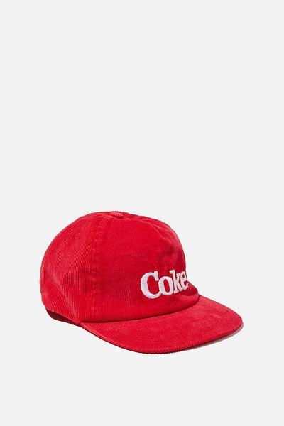 License Cord Service Cap, COKE