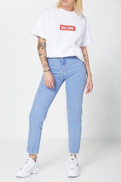 The Skinny-Slim Jean, VIBRANT BLUE