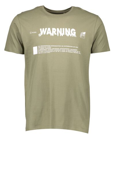 Tagged Tee, PICKLE/WARNING
