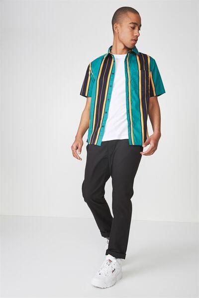 Ss Oversized Shirt, JOEY STRIPE