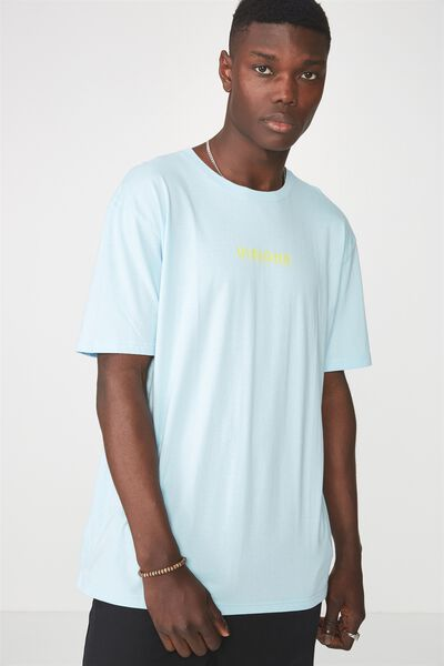 Ss Graphic T Shirt, SKY BLUE/VISIONS