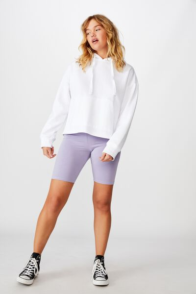Basic Bike Short, PALE WISTERIA