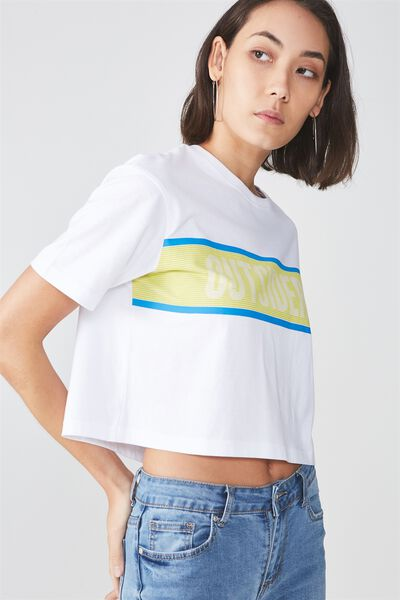 Graphic Boxy Tee, WHITE_OUTSIDER