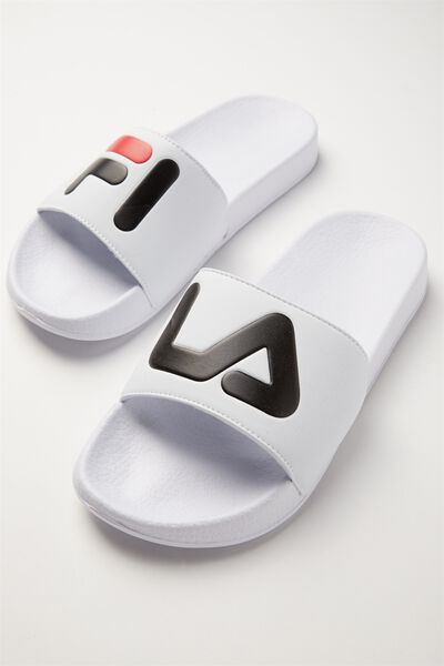 Fila Lcn Slides, WHITE WORDS